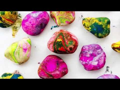 How to Marble Rocks