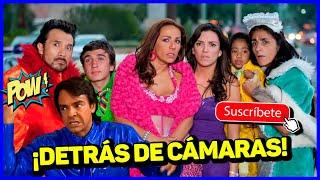 DETRÁS DE CÁMARAS 😱 FAMILIA P. LUCHE | Eugenio Derbez