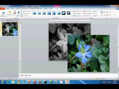 Creating Transparent Picture from Powerpoint 2010.wmv
