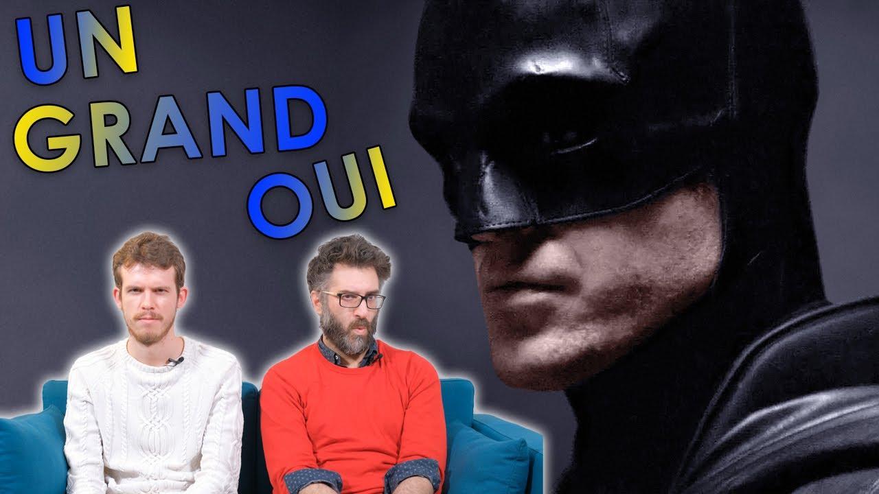 THE BATMAN, ROBERT PATTINSON — EXCITATION MAXIMUM ?