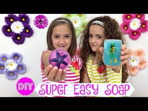DIY SOAP BARS!  SO CUTE!