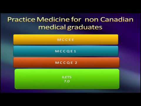 Practicing medicine in Canada for non Canadians - Part 1