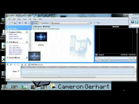How to make a intro in Windows Movie Maker 2012