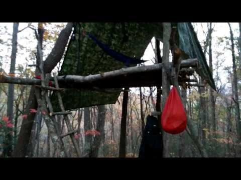 Safe Hammock Survival tree house shelter
