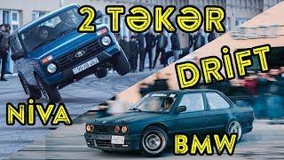 Niva ilə 2 təkər   BMW ilə Drift 🔥   Bol aksiyonlu VLOG 🤩