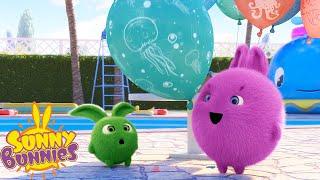 SUNNY BUNNIES - Balloon Fun   Season 3   Cartoons for Children