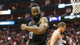 James Harden MVP Performance 44 Pts in Game 1! 2018 NBA Playoffs
