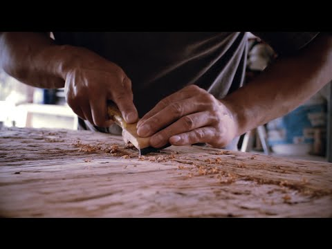 Edson Hardwood - Turning reclaimed lumber into a reclaimed wood table