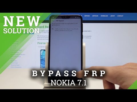 Bypass Google Verification NOKIA 7.1 - Unlock FRP Android 9 / Remove Google Protection