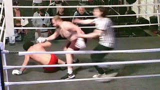 300 lb monster vs tik tok star full boxing match!
