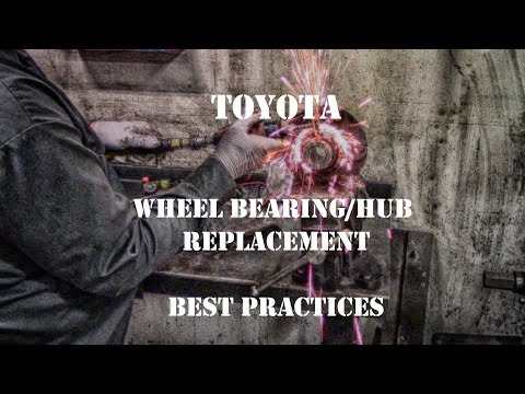 Toyota Wheel Bearing Hub Replacement Best Practices