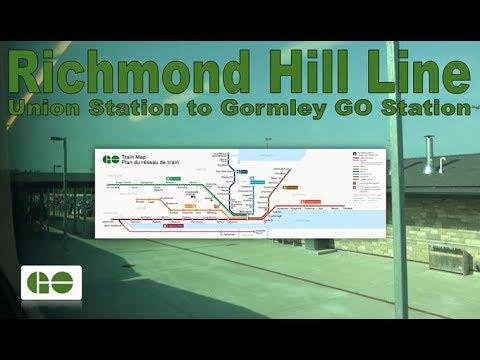 Richmond Hill Line - GO Transit 2014 Bombardier BiLevel VIII 2819 (Union Stn to Gormley GO Station)