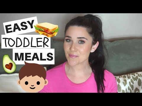 WHAT I FEED MY ONE YEAR OLD | QUICK & EASY TODDLER MEALS!