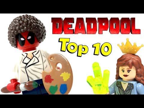 Top 10 LEGO Deadpool Custom Costumes