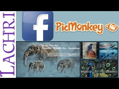 How to make a free facebook cover page with Picmonkey - social media tips w/ Lachri
