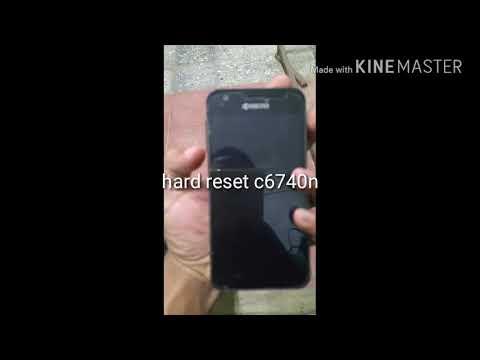 Hard reset kyocera c6740n
