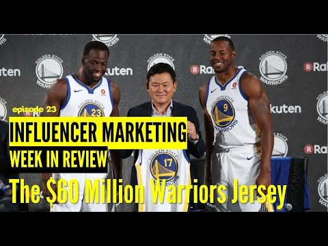 Would you Spend $60 Million on a Warriors Jersey? This Company Did