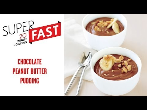 How to Make Chocolate-Peanut Butter Pudding