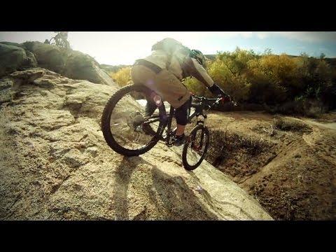 Sycamore Canyon Mountain Biking Jump 1000fps