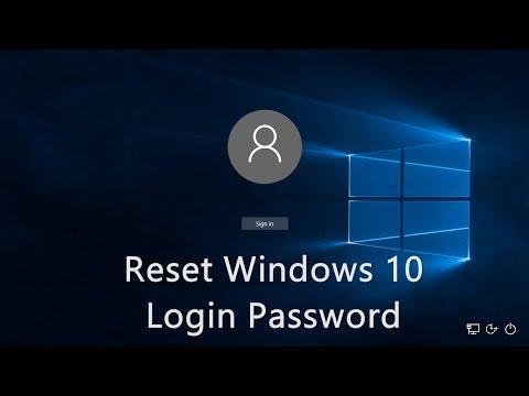 how to reset my computer password