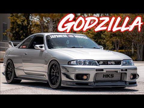 Download Sequential Skyline R33 GTR Street Drive - Godzilla RB26 2 9