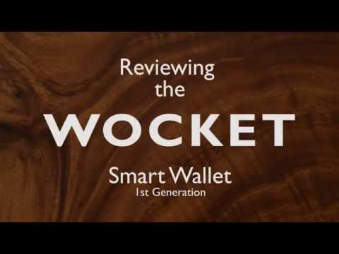 How to set up the Wocket 1st generation Smart Wallet