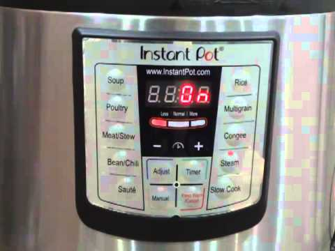 How to Use Instant Pot as a Pressure Cooker