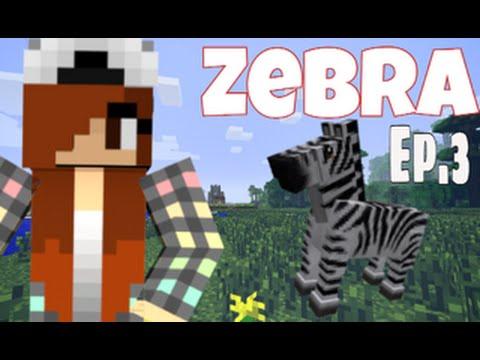 Taming Tutorials   Ep.3   How to tame a Zebra   Mo'Creatures Mod