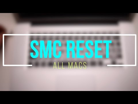 How? and Why? to Reset The System Management Controller (SMC Reset)