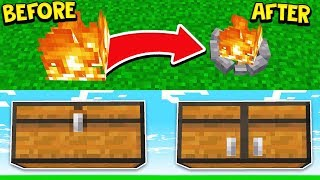 20 SECRET THINGS YOU CAN MAKE IN MINECRAFT!