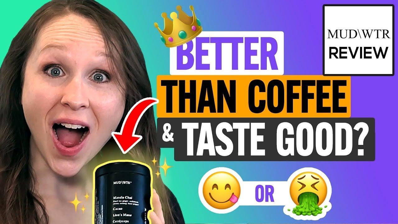 ☕ MUD\WTR Review & Taste Test:  Does This Coffee Alternative Taste Like Mud?