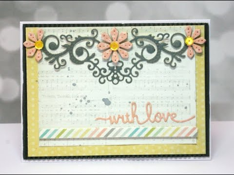 With Love Floral Bloom Card