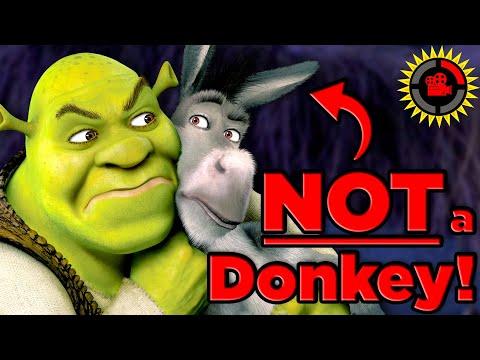Xxx Mp4 Film Theory Shrek 39 S Donkey Was SECRETLY A Human Shrek Movie 3gp Sex