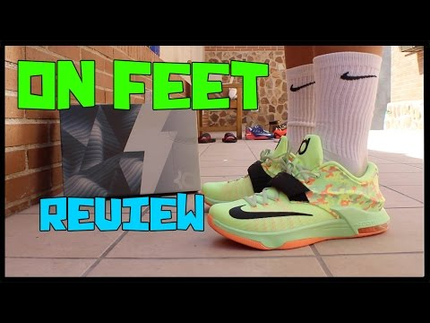 ON FEET Review NIKE KD 7 Easter | Ferny Sneakers