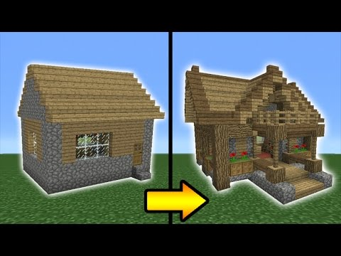 Minecraft Tutorial: How to Transform a Village Library