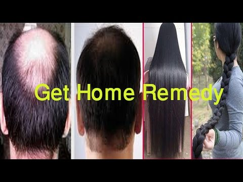 How To Get Long & Thick Hair, Stop Hair Fall & Get Faster Home Remedy