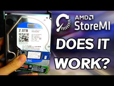 AMD's StoreMI Review... The Good & The Bad