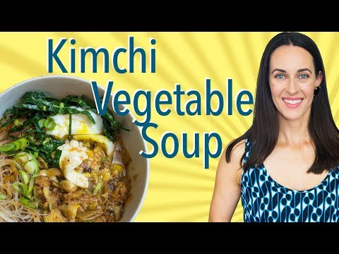Kimchi Vegetable Soup Demo - How to Make Soup with Kimchi, As Vegan or Vegetarian as You Like