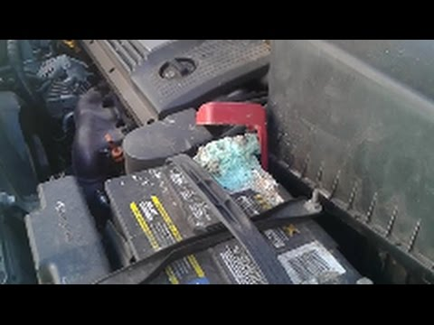 How To Remove Battery Corrosion - D.I.Y - The Easy Way