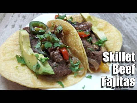 Skillet Beef Fajita Recipe | Episode 277