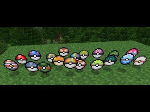 [TuTo]Comment faire des pokeballs sur pixelmon [FR] [HD]