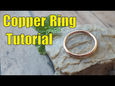 How to make a ring from scratch.