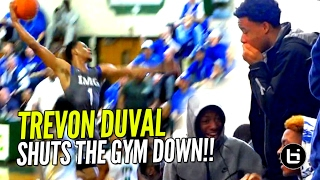 Trevon Duval SHUTS GYM DOWN vs Kyrie Irving