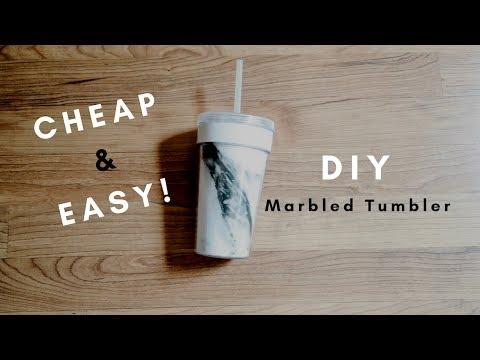 DIY | Marbled Tumbler