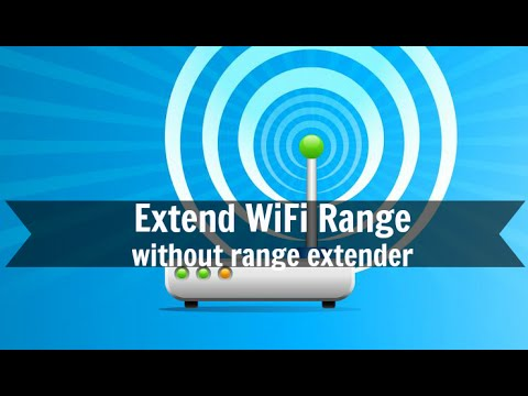 Extend WiFi range without range extender
