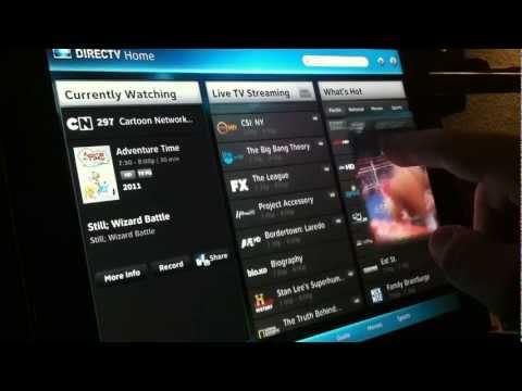 DirecTV Live via iPad 2: DirecTv App UPDATE