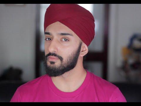 How to tie a Turban @PardeepBahra