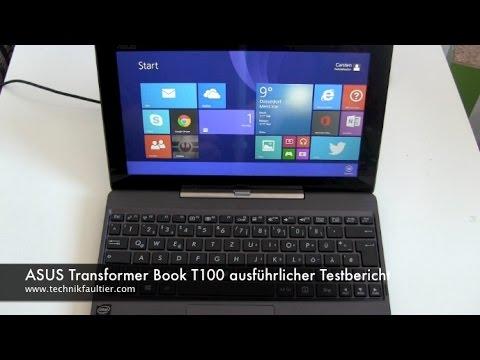 ASUS Transformer Book T100 ausführlicher Testbericht