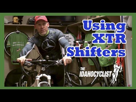 How To Use XTR Mountain Bike Shifters