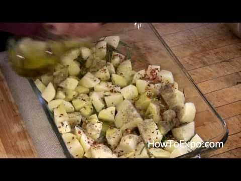 Oven Roasted Rosemary Potato Recipe (Recipes For Rosemary Potatoes)
